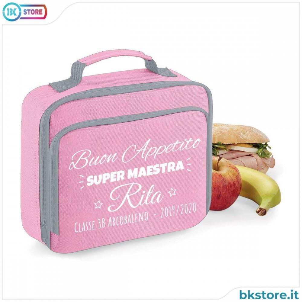 borsa frigo lunch box maestra