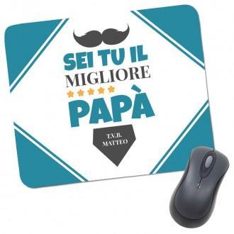 Tappettino mouse pad per il papà personalizzato
