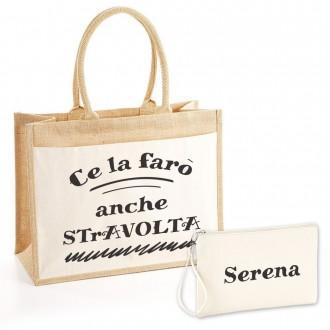 borsa shopper personalizzata