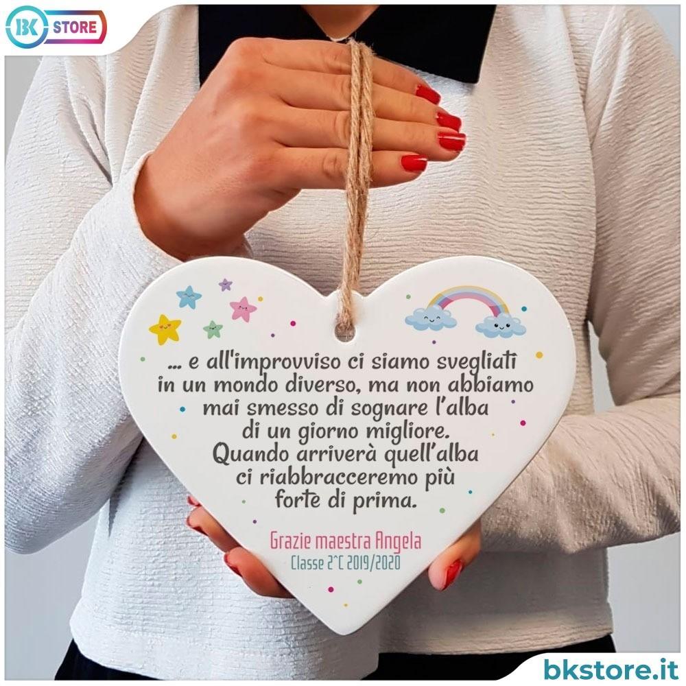 cuore regalo maestra