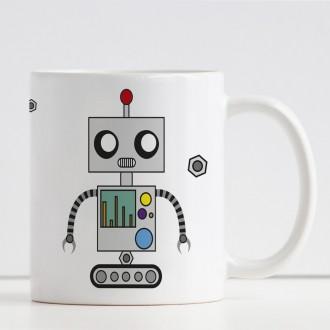 tazza robot personalizzata