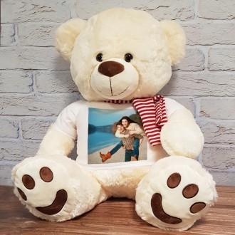 orso gigante personalizzato con foto e frase