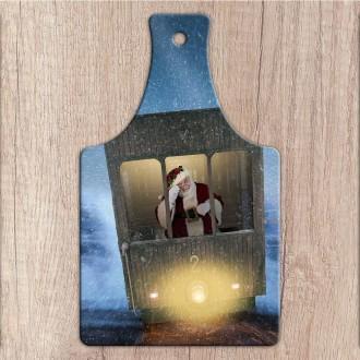 Tagliere in ceramica personalizzato con foto o testo